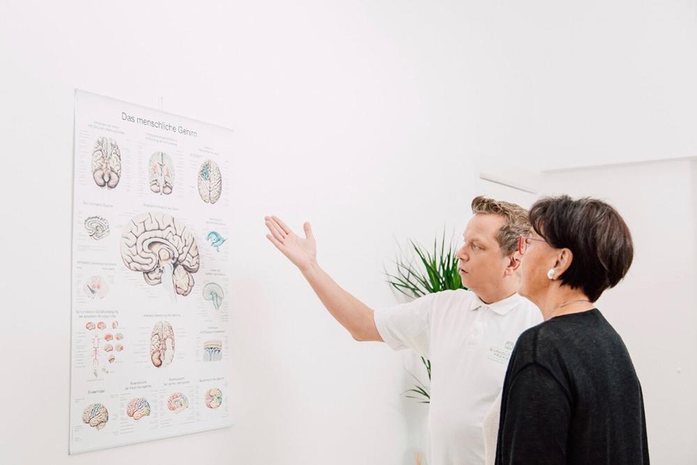 Burnout Praxis Berlin - Neuzerling - Leistungen - Neurologische Untersuchungen